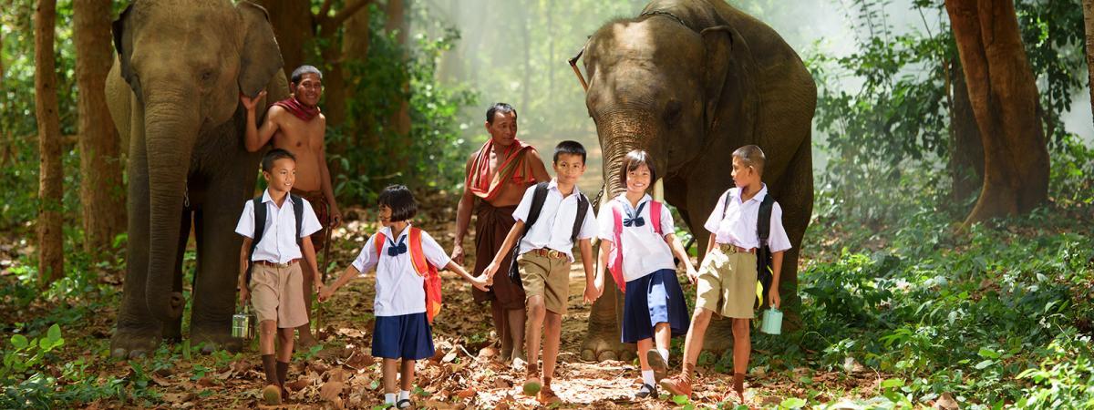 Vacanze con bambini Asia