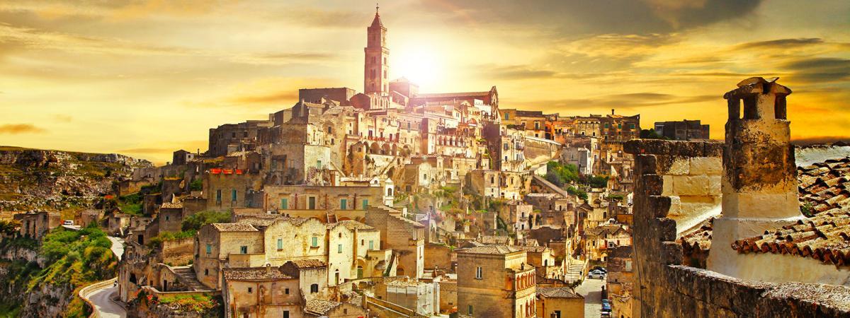 Tour in pullman in Basilicata: da Matera a Napoli