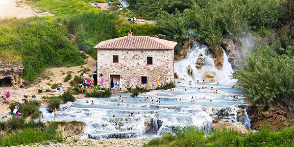 Cascate del Mulino - Saturnia, Toscana