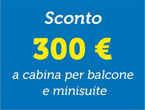 Sconto 300€ - Spesa vista mare
