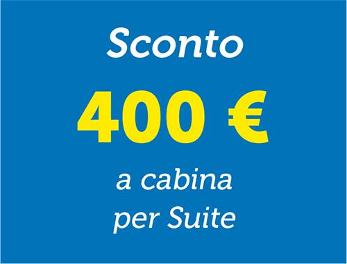 Sconto 400€ - Spesa vista mare